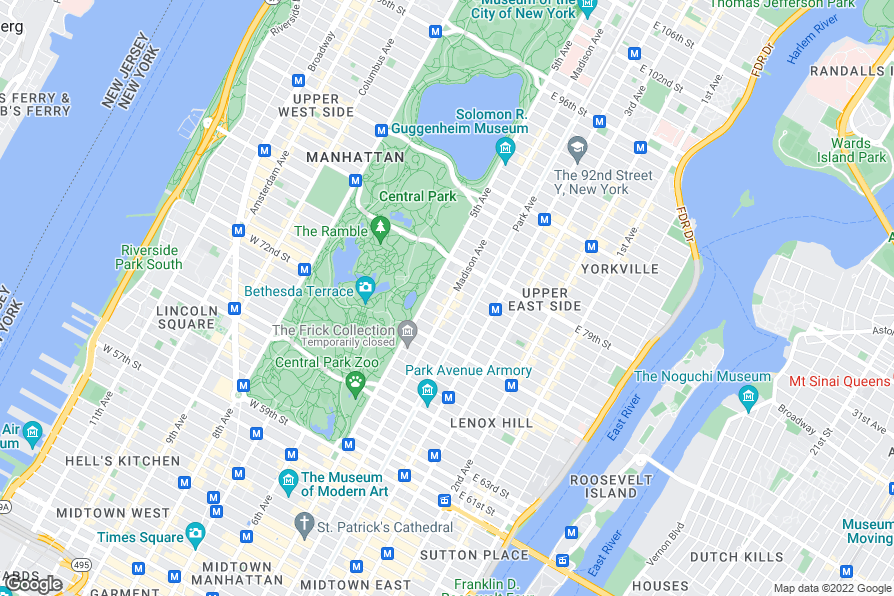 Hotels Near Upper East Side New York City