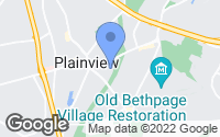 Map of Plainview, NY