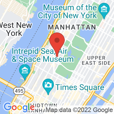 Map showing Joe — Lincoln Center
