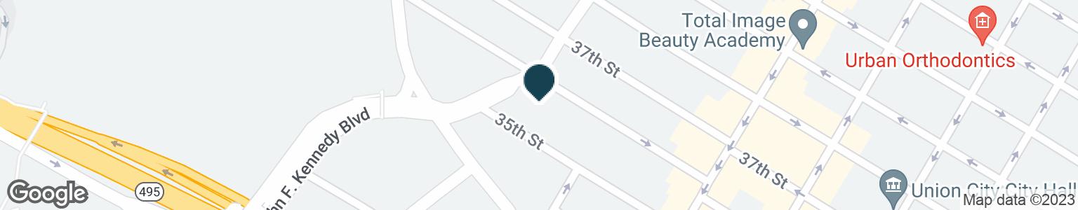 Google Map of3508 KENNEDY BLVD.