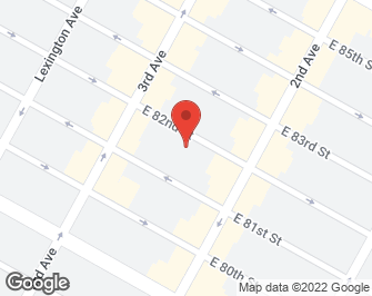 New York City Real Estate | View 222 East 82nd Street #5F | map