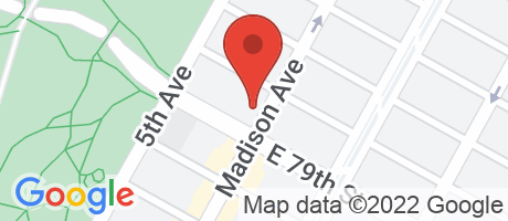 Branch Location Map - Citibank, Madison & 79th Street, 1042 Madison Avenue, New York NY