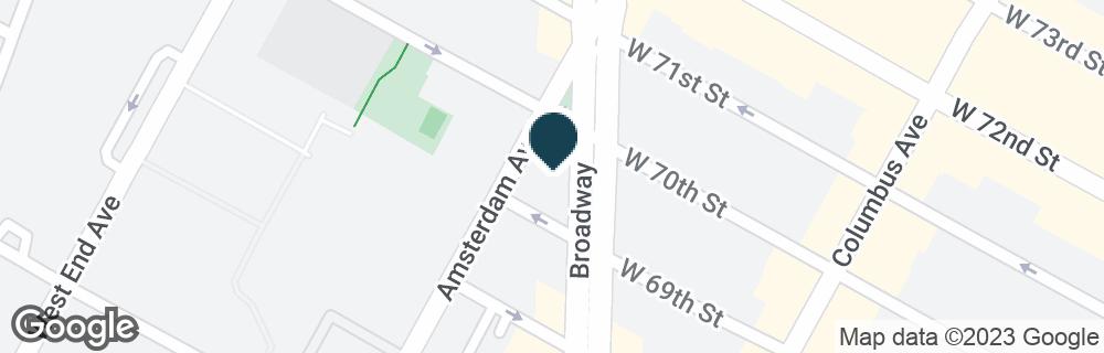 Google Map of2025 BROADWAY