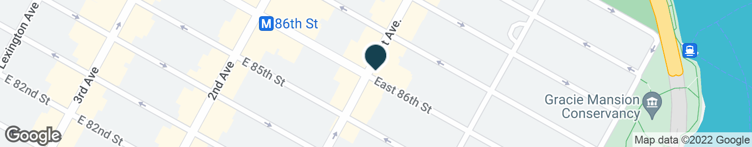Google Map of401 E 86TH ST