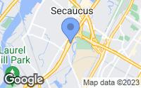 Map of Secaucus, NJ