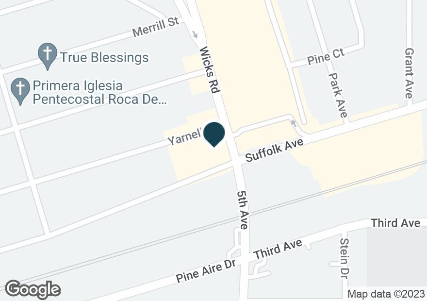 Google Map of26 WICKS RD