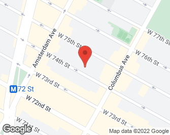 New York City Real Estate | View 123 West 74th Street, 1A | map