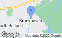 Map of Brookhaven, NY