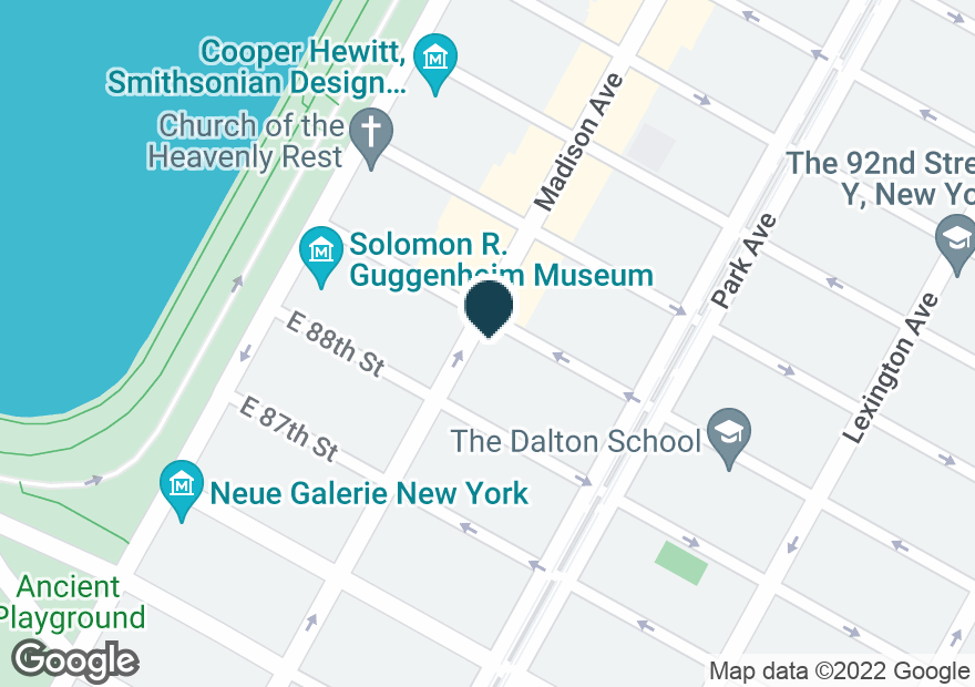 Google Map of1231 MADISON AVE