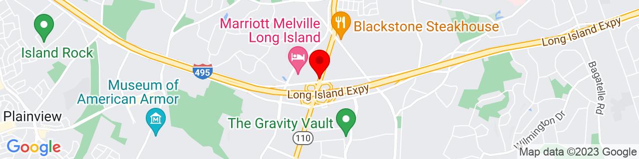 Google Map of 40.7827759, -73.4180056