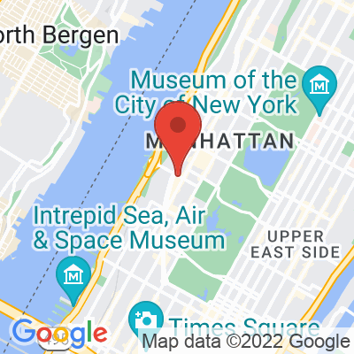 Map showing Irving Farm Coffee Roasters — Upper West Side