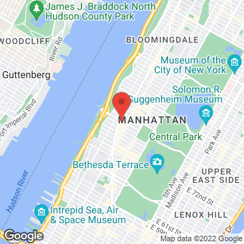 Map of Sunglass Hut - Temporarily Closed at 2218 Broadway & 79th, New York, NY 10024