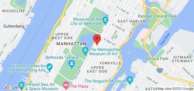 Laila's On Madison Map