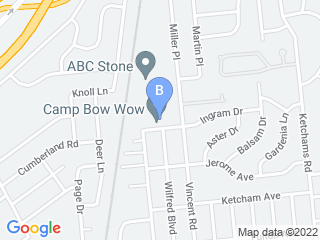 Map of Camp Bow Wow Dog Boarding Hicksville Dog Boarding options in Hicksville | Boarding