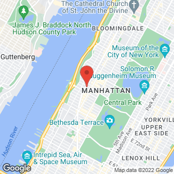 Map of Staples at 2248 Broadway, New York, NY 10024