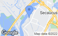 Map of Secaucus, NJ