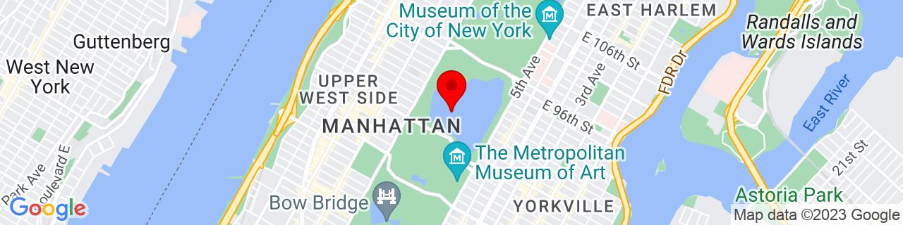Google Map of 40.785719, -73.9639021