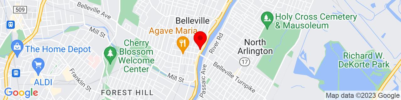 Google Map of 40.7875653, -74.14800620000001