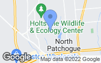 Map of Patchogue, NY