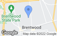 Map of Brentwood, NY