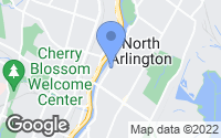 Map of North Arlington, NJ