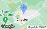 Map of Chester, NJ