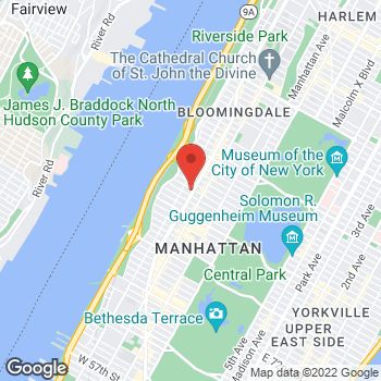 Map of Bed Bath & Beyond at 2431 Broadway, New York, NY 10024