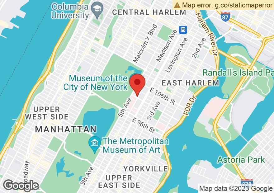 Google Map of 1490 MADISON AVE