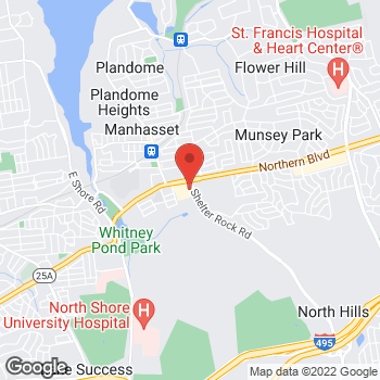 Map of Staples at 1410 Northern Blvd, Manhasset, NY 11030