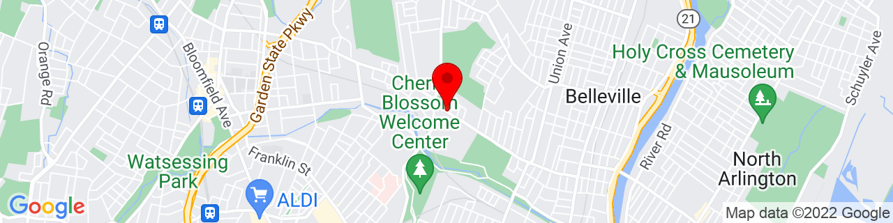 Google Map of 40.792243, -74.1693372