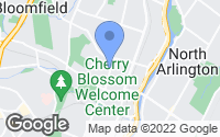 Map of Belleville, NJ