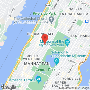 Map of Rite Aid at 741 Columbus Avenue, New York, NY 10025