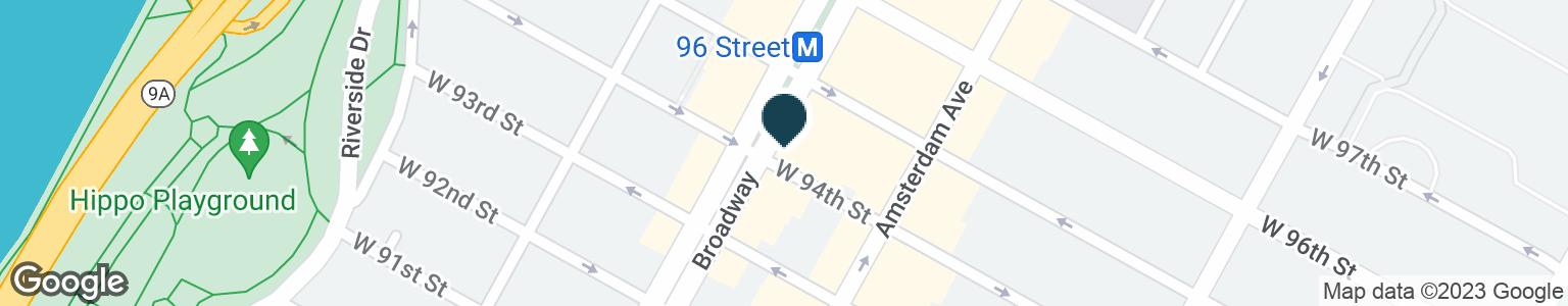 Google Map of2522 BROADWAY