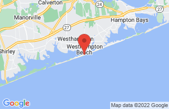 Map of Westhampton Beach