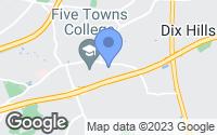 Map of Dix Hills, NY