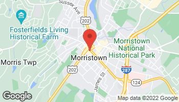 Map of 3 South Street in Morristown