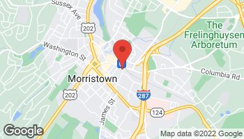 Map of 80 Elm St in Morristown