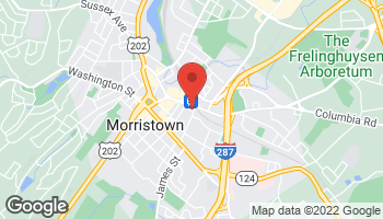 Map of 80 Elm Street in Morristown