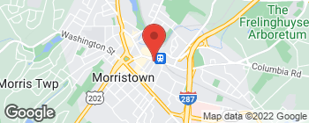 Map of 123 Morris St in Morristown