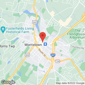 Map of Panera Bread at 66 Morris St, Morristown, New Jersey 07960