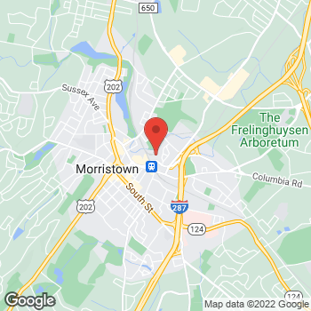 Map of Staples at 30 Lafayette Ave, Morristown, NJ 07960