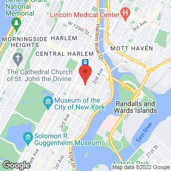 Map of Rite Aid at 2155 Third Avenue, New York, NY 10035
