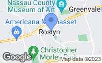Map of Roslyn, NY