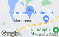 Map of Manhasset, NY