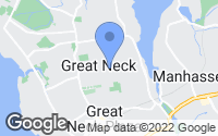 Map of Great Neck, NY
