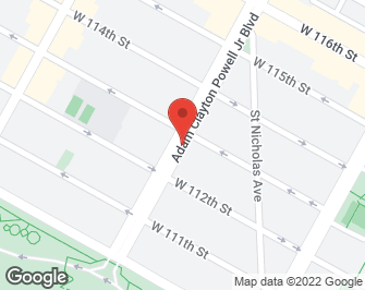 New York City Real Estate | View 1853-55 ADAM CLAYTON POWELL, #3D | map