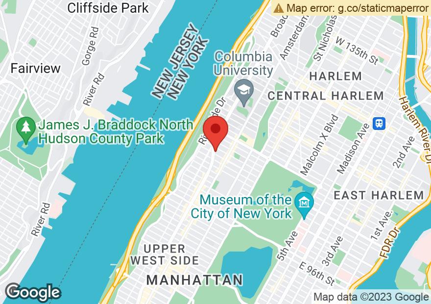 Google Map of 2760-62 BROADWAY