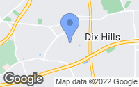 Map of Dix Hills, NY