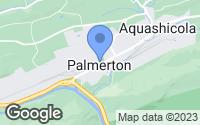Map of Palmerton, PA