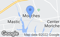 Map of Moriches, NY